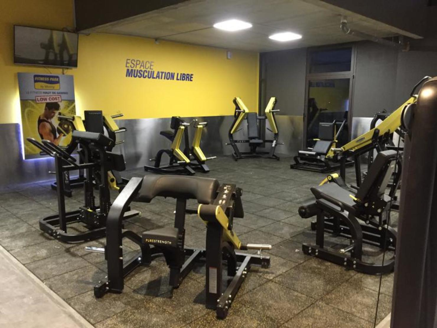 Fitness park salon de provence salles de for Salon de fitness