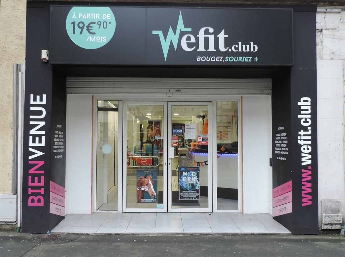 wefit club angers salles de. Black Bedroom Furniture Sets. Home Design Ideas